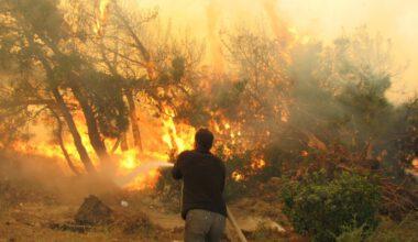 ANDA ekibinden 'Ateş Savaşçıları'na destek