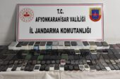 Jandarma 145 adet kaçak cep telefonu ele geçirdi