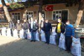 Çiftçilere ücretsiz Macar fiği tohumu dağıtıldı