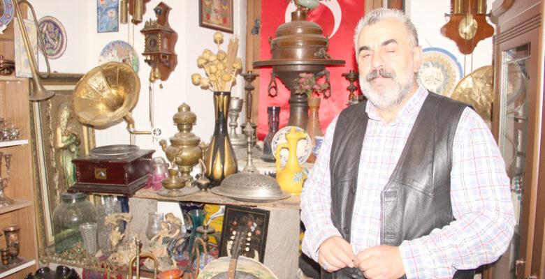 Taşhan'da açılan Antika müzesi büyük ilgi görüyor