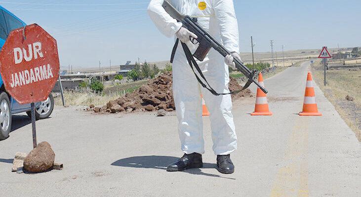 Dinar'da ki 600 nüfuslu köy korona karantinasına alındı
