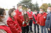 Kızılay İzmir'de 1000 kişiye beslenme hizmeti vererek, ihtiyaçları giderdi
