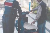 Motosiklet çalan şahıs gözaltına alındı
