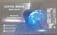 Öğretmenlere yönelik sosyal medya konferansı