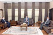 Rektör Karakaş Veteriner Hekimler Odası Başkanı Algan'ı kabul etti