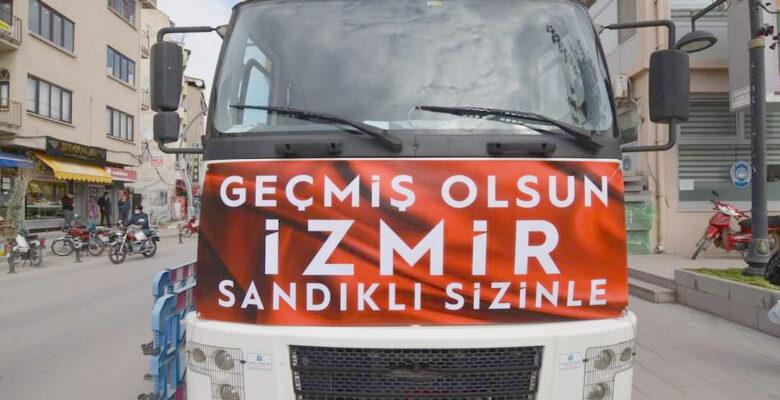Sandıklı'dan İzmir'e gönül köprüsü kuruldu