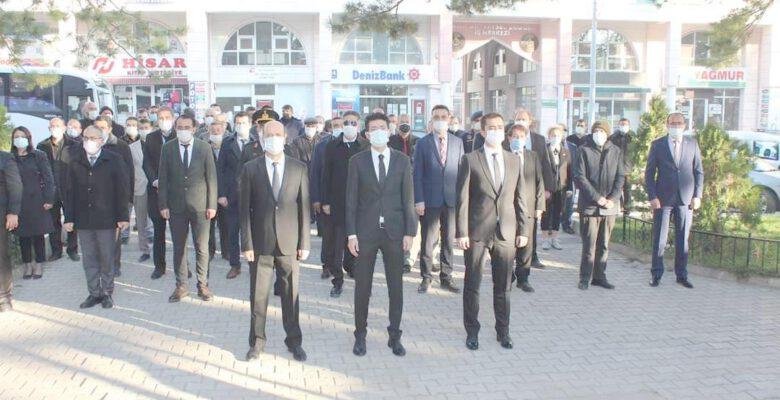 Şuhut'ta 10 Kasım Atatürk'ü Anma töreni