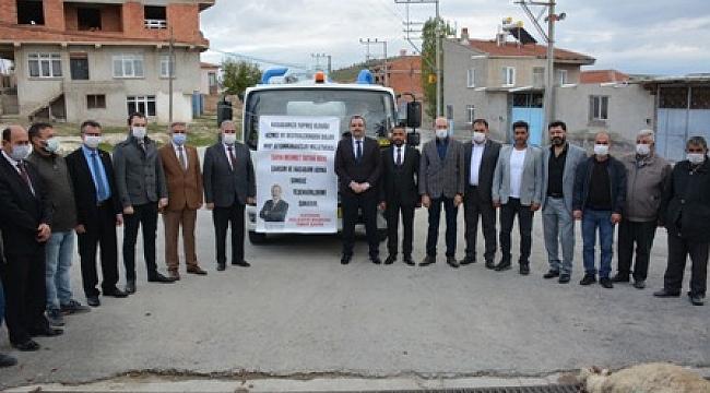 Başkan Ömer Şahin'den Taytak'a teşekkür