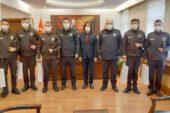 18 kişinin hayatını kurtaran mahalle ve çarşı bekçileri ödüllendirildi