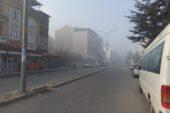 Afyonkarahisar'da sisli hava hayatı olumsuz etkiledi