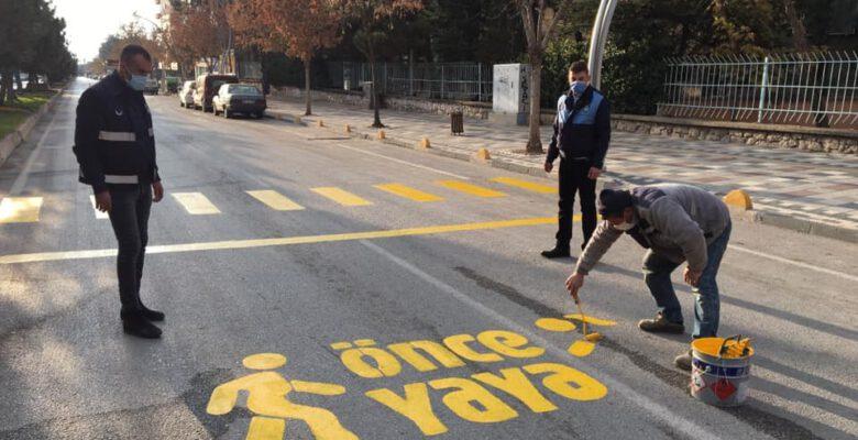 Sandıklı Belediyesi şehir içi trafik düzenlemesi için harekete geçti