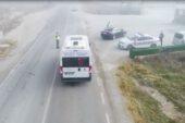 Ehliyetsiz sürücüyü jandarma drone ile havadan böyle yakaladı