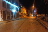 Şuhut'ta 56 saatlik sokağa çıkma kısıtlamasında her taraf sessizliğe büründü