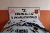 Kütahya'da silah ve mühimmat kaçakçılığı operasyonu