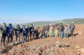 Afyonkarahisar'ın dağları Diyarbakırlı işçilerin emekleri ile yeşillenecek