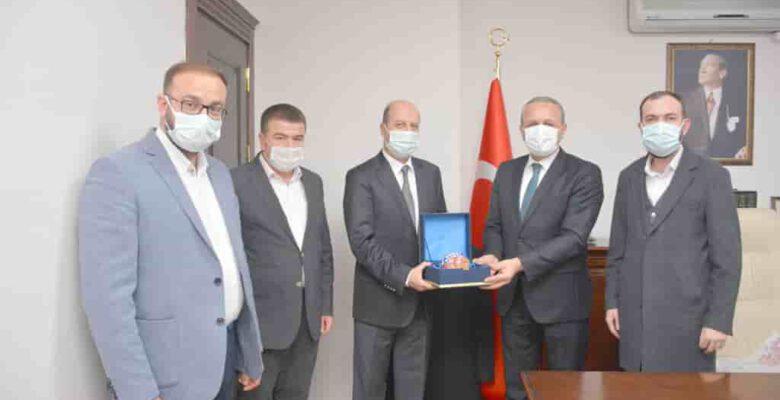 Başkan Bozkurt'tan İl Müfütüsü Sinan Kazancı'ya Ziyaret