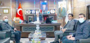 DSİ Bölge Müdüründen Başkan Bozkurt'a Ziyâret