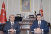 Uysal, DSP Başkanı Aksal ile görüştü