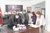 Dinar OSB'de genişleme çalışmalarında ilk imzalar atıldı