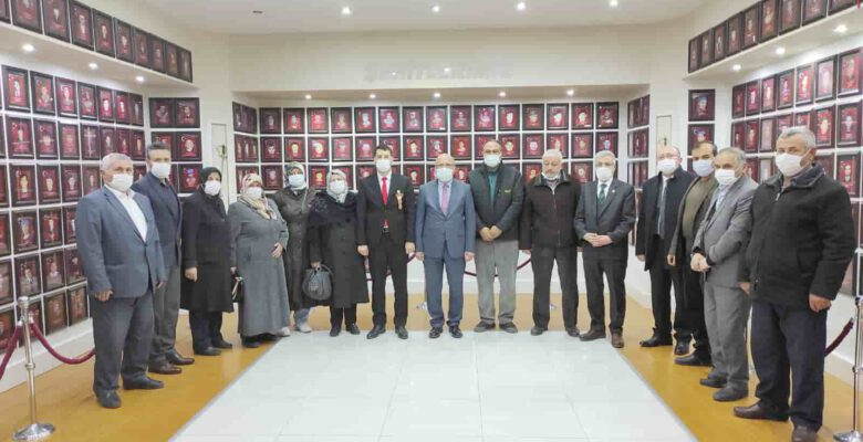 İGM Başkanı Çoban şehit ailelerini ziyaret etti