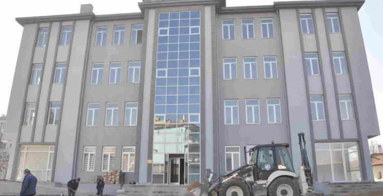 İhsaniye Belediye hizmet binası projesinde sona yaklaşıldı