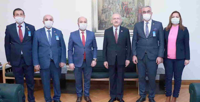 İlçe Belediyelerden CHP' ye ziyaret