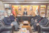 Kızılay İl Başkanı Okyar, Başkan Çöl'ü ziyaret etti