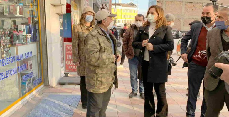 Köksal, Bolvadin İlçesi'nde esnaf ve vatandaşları dinledi
