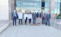 Korkmaz ve Koyuncu'dan Şuhut Devlet Hastanesine ziyaret