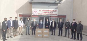Nuribey Belediyesi sağlık çalışanlarını unutmadı
