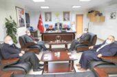 SAADET PARTİSİ İL BAŞKANI ŞENEL'DEN ULUÇAY'A 'HAYIRLI OLSUN' ZİYARETİ