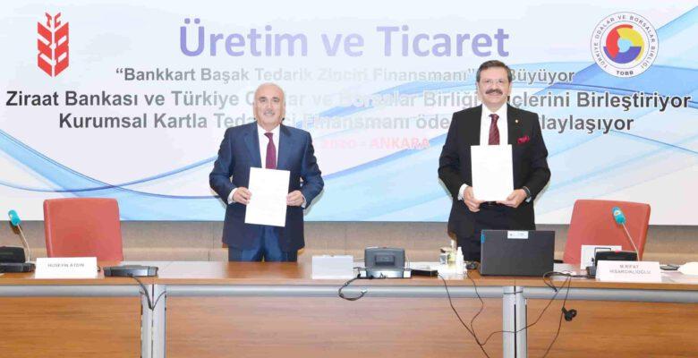 Bankkart tedarik zinciri finansman projesi lansmanı yapıldı