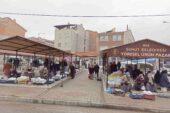 Şuhut'ta 'Yöresel Ürünler Pazarında Korona virüs denetimi