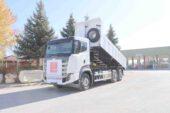 Türkiye Belediyeler Birliğinden Dinar'a Hibe Kamyon