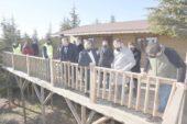 Zeybek Saraydüzü'nde incelemeler yaptı