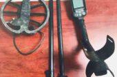 2 adet metal arama dedektörüne el konuldu