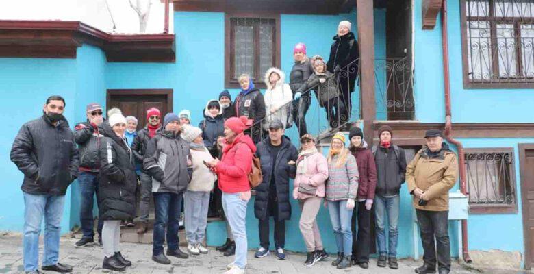 Turist kafilesi Afyonkarahisar'ı gezdi