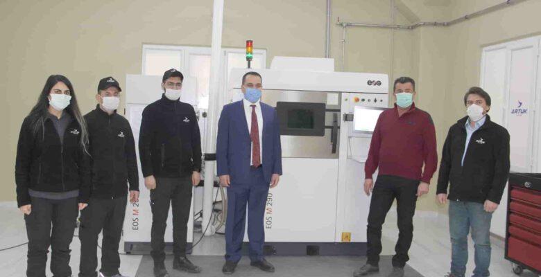 Afyonkarahisar'da üretilen uçak parçaları dünya ülkelerine ihraç edilecek