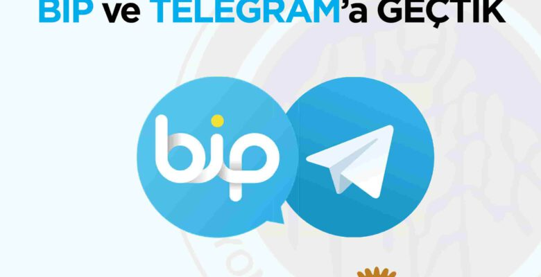 BELEDİYE BİP VE TELEGRAM'A GEÇTİ