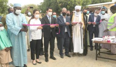 """Çad'ın başkenti Encemine'de """"Erol Battal Kız Yetimhanesi"""" açıldı"""