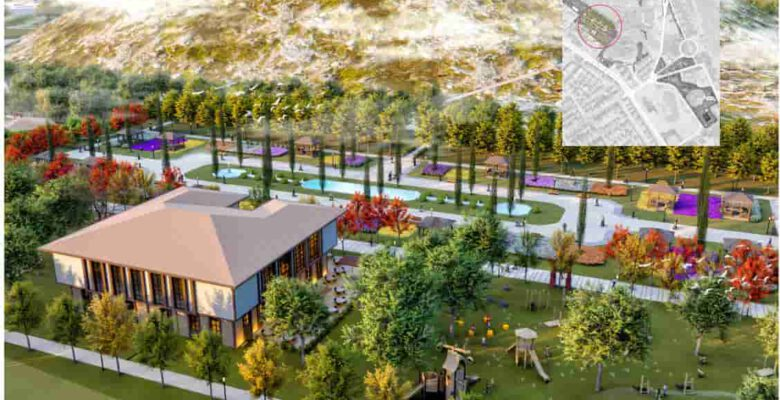 Millet Bahçesine 36 bin metrekare daha ilave edildi