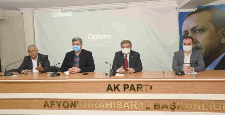"""Özkaya, """"Milletimizin kazancının olmadığı hiçbir işe başlamadık"""""""