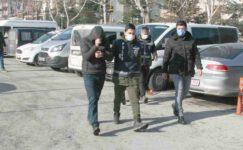 Polis soyguncuları olaydan 4 gün sonra yakaladı