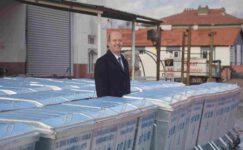 Şuhut'a 90 adet Çöp konteyneri