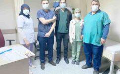 Şuhut'ta ilk korona virüs aşısı sağlık personellerine yapılmaya başladı