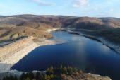 Çatören Barajı'nda doluluk 1 yılda yarıya düştü