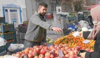 Soğuk havalar pazarlarda meyve fiyatlarını etkiledi