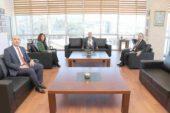 Vakıfbank'tan Serteser'e ziyaret