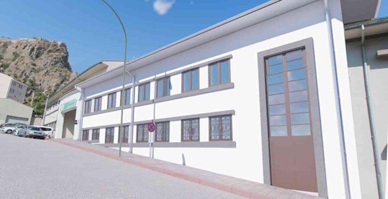 Eski Güreş Eğitim binası Genç Ofis olacak!..