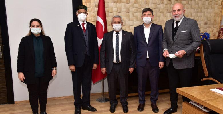 Bangladeş Büyükelçisi Mannan'dan Başkan Zeybek'e ziyaret